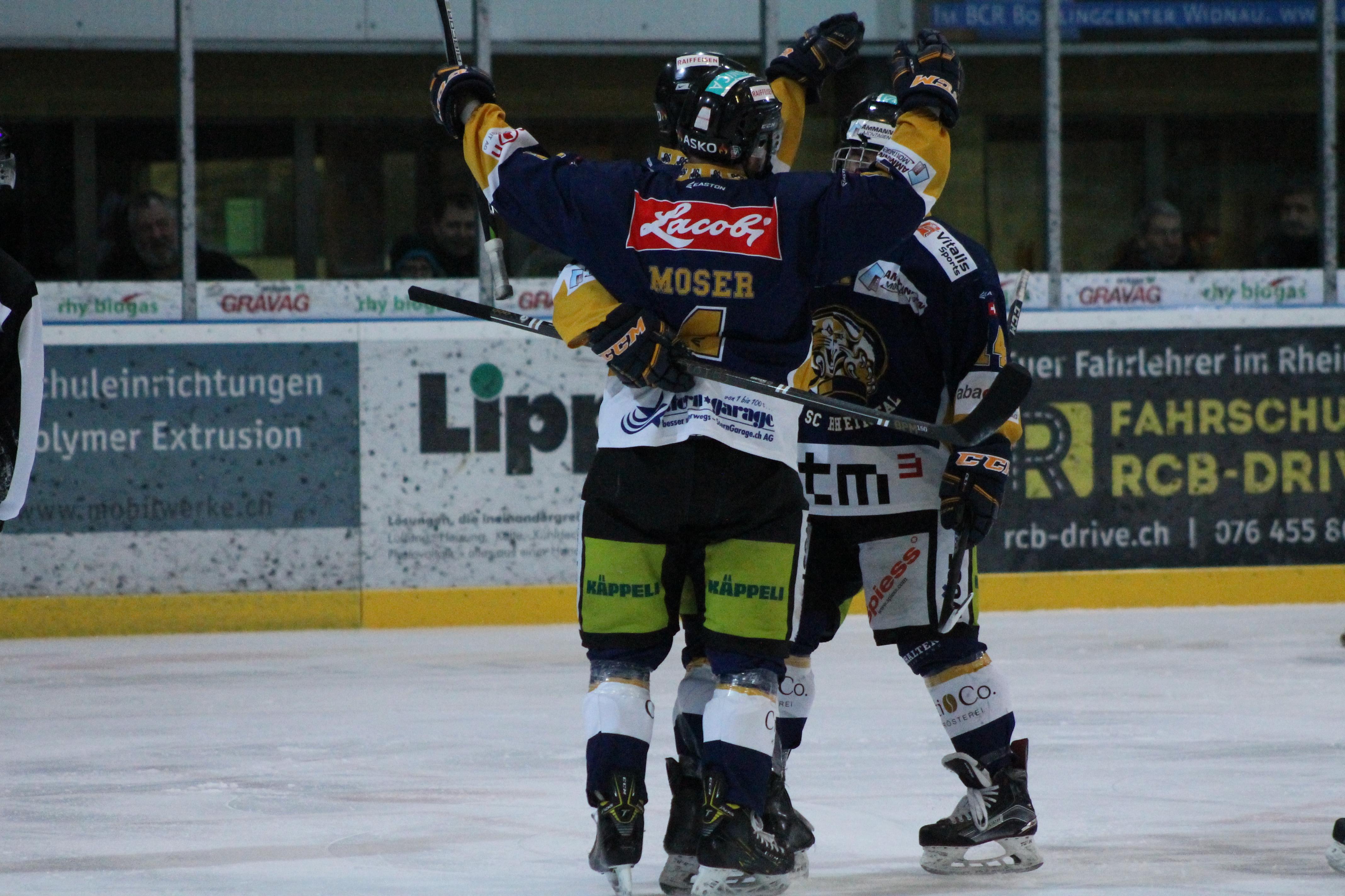 EHC Chur Switzerland Eishockey puck