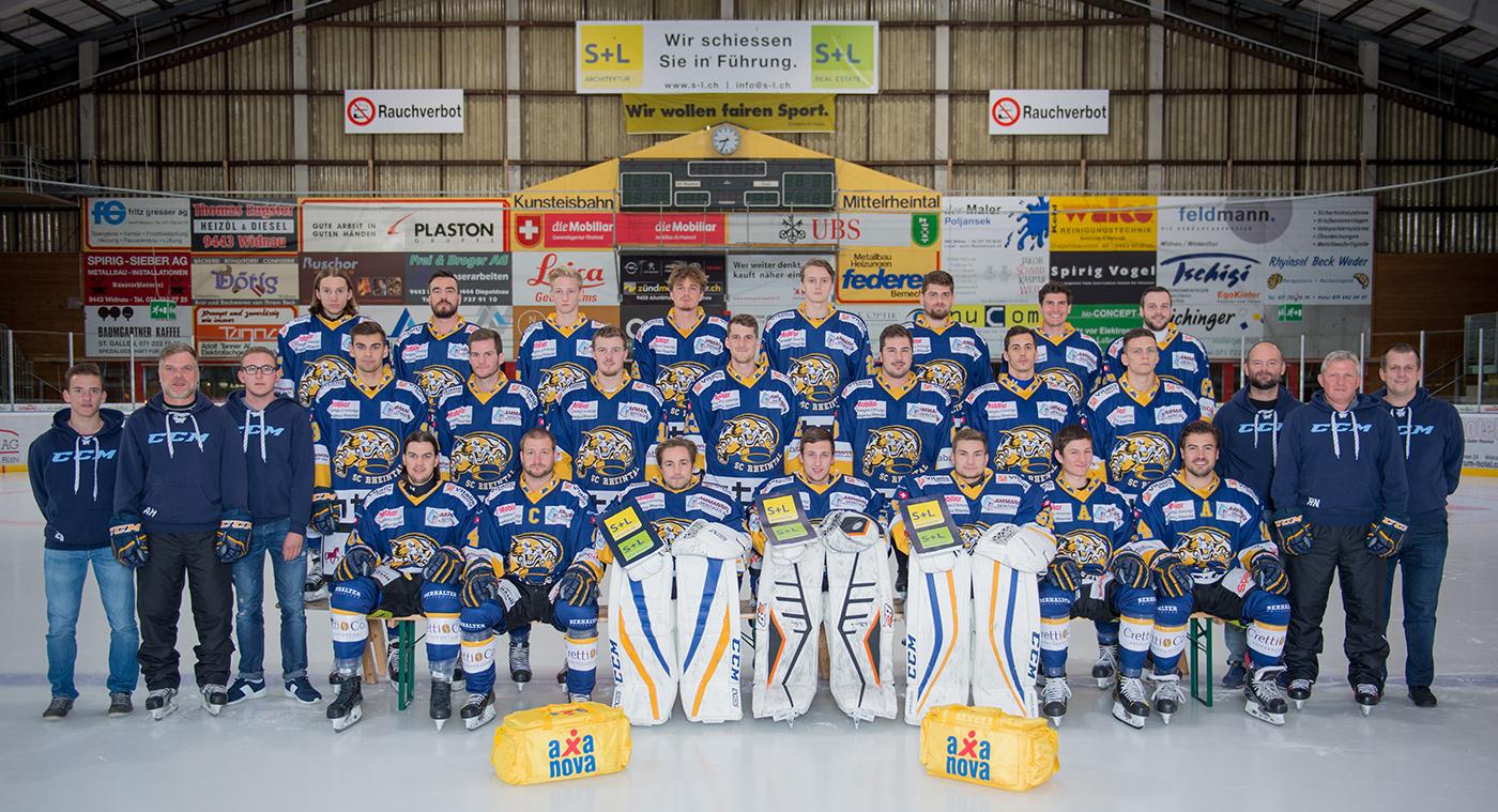 SC Rheintal Team-1-Saison-2017-2018